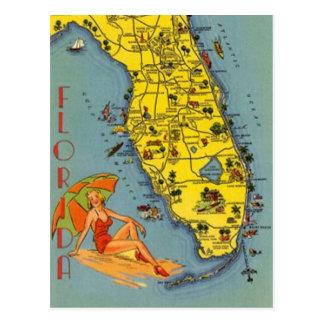 La Floride vintage, Etats-Unis - Carte Postale