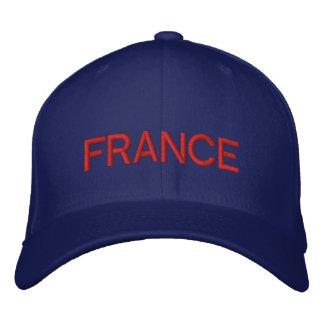 La France - Français Casquette Brodée