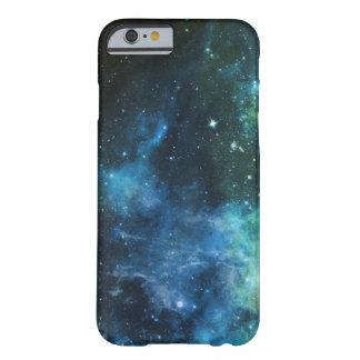 La galaxie tient le premier rôle le vert bleu d'iP Coque Barely There iPhone 6