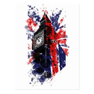 La Grande-Bretagne Big Ben Carte Postale
