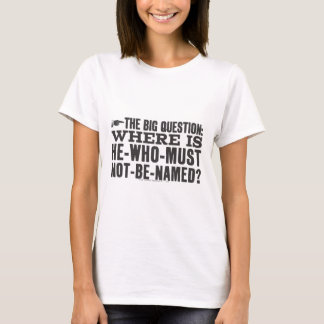 La grande question t-shirt