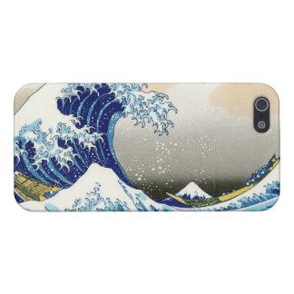 La grande vague de Kanagawa Katsushika Hokusa Coques iPhone 5