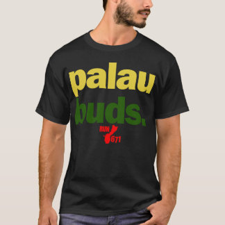 La GUAM COURENT 671 bourgeons des Palaos T-shirt
