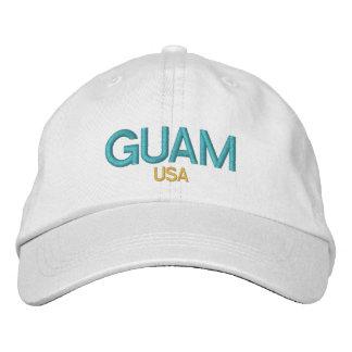 La Guam Etats-Unis a brodé le casquette