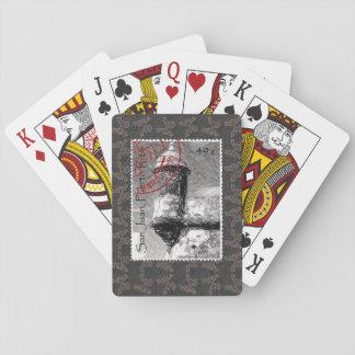 La Guérite stamp Cartes À Jouer