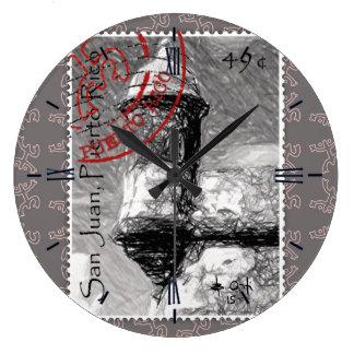La Guérite stamp Grande Horloge Ronde