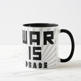 "La ""guerre est la tasse 1984 de slogan de paix"""