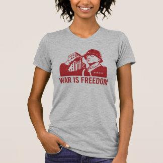 La guerre est T-shirt de liberté