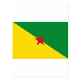 la Guyane française française Carte Postale