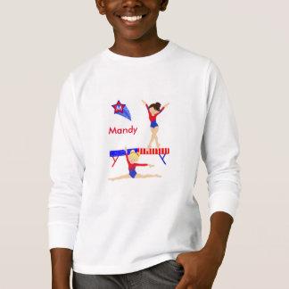 La gymnastique a longtemps gainé le tee - shirt t-shirt