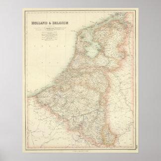 La Hollande et la Belgique