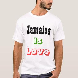 la Jamaïque est des T-shirts d'amour