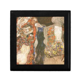La jeune mariée (non finie) par Gustav Klimt Coffret Cadeau