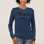 la La cest luttent Paris T-shirt À Manches Longues