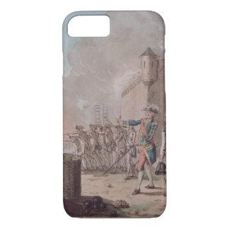 La levée du siège de Pondicherry, 1748, gravent Coque iPhone 7