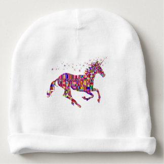 La licorne en arc-en-ciel multi colore le bonnet pour bébé