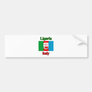 La Ligurie Italie Autocollant Pour Voiture