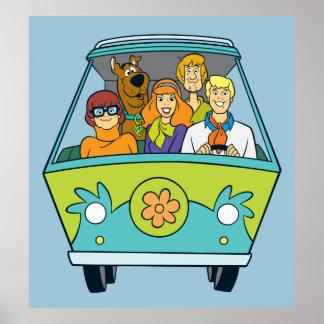 Posters de Scooby-Doo sur Zazzle