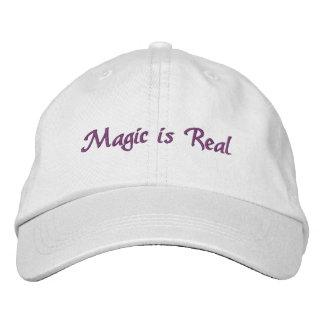 La magie est casquette Vrai-brodé