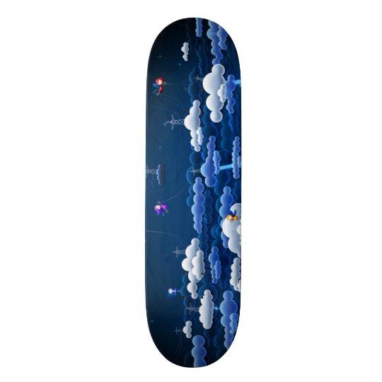 La magie opacifie le pro panneau fait sur commande plateau de skateboard