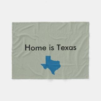La maison est couverture du Texas