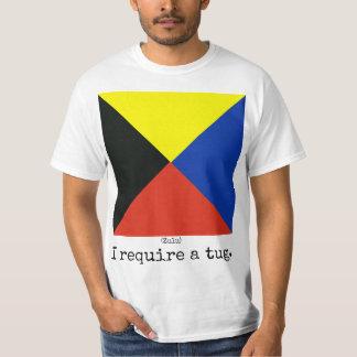 La marine marque la chemise (zoulou), homme t-shirt
