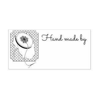 La marque du fabricant pour la couture