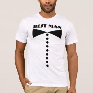 La meilleure chemise d'homme - mariage - t-shirt