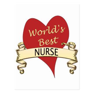 La meilleure infirmière du monde cartes postales