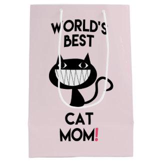 La meilleure maman du chat du monde ! Sac de