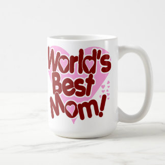 La MEILLEURE maman du monde ! Mug Blanc