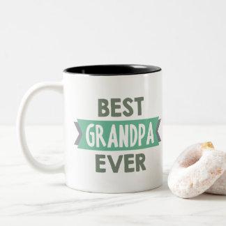 La meilleure tasse d'art de mot de grand-papa