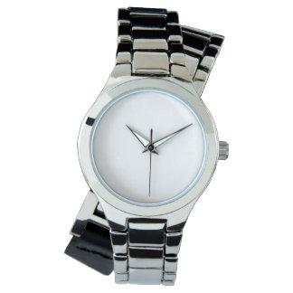 La montre argentée enveloppante des femmes montres bracelet