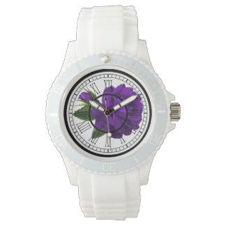 La montre-bracelet imprimée des femmes montres bracelet