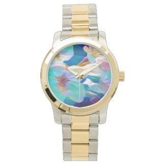La montre de dame de fleur