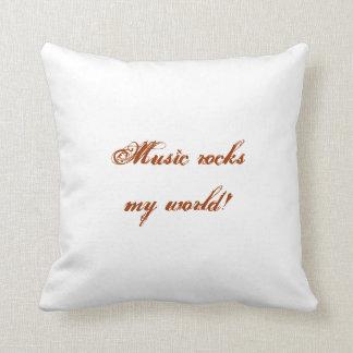 La musique bascule mon coussin du monde