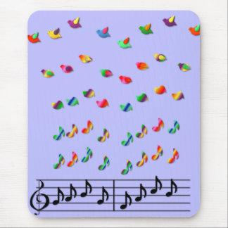 La musique de KRW fait des rêves effectuer le vol Tapis De Souris