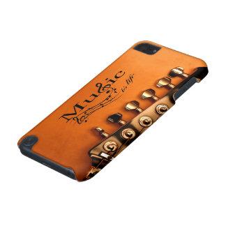 La musique est la vie avec la tête de machine de g coque iPod touch 5G
