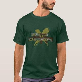 """La """"musique est une concurrence """" t-shirt"""