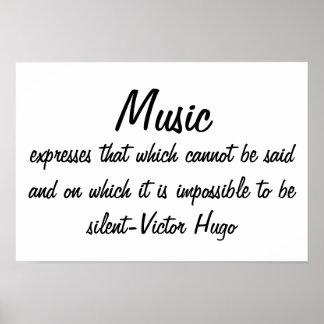 La musique exprime…