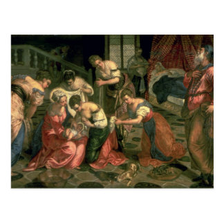 La naissance de St John le baptiste, 1550-59 Carte Postale
