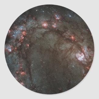 La NASA de la galaxie M83 en spirale Sticker Rond