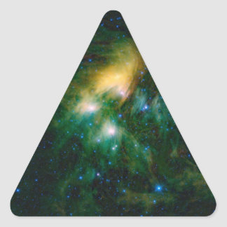 La NASA Pleiades Sticker Triangulaire