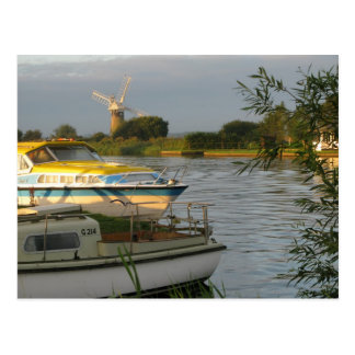 La Norfolk Broads - carte postale