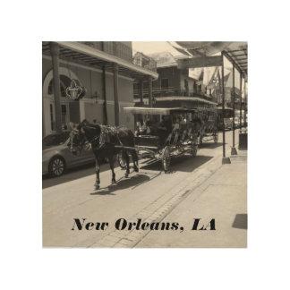 La Nouvelle-Orléans, art en bois de LA