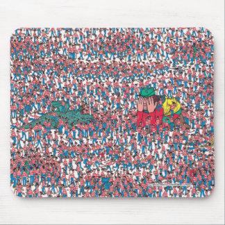 Là où est la terre de Waldo | de Waldos Tapis De Souris