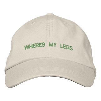 Là où est mon casquette de jambes
