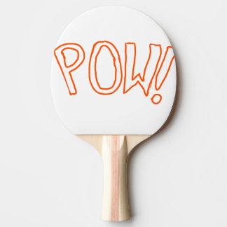 La palette supplémentaire d'expression raquette de ping pong