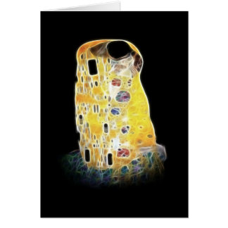 La peinture jaune de Gustav Klimt Digital de Carte