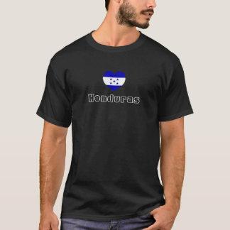 La pièce en t des hommes de coeur du Honduras T-shirt